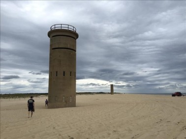 Historic Cape Henlopen WWII Fortifications