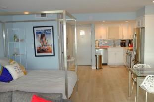 807 Remodel, Wood Plank Tile Flooring